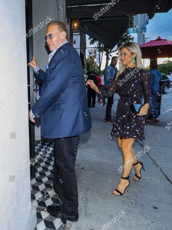 Editorial image of Lee Majors and Faith Majors out and about, Los Angeles, USA - 15 May 2019