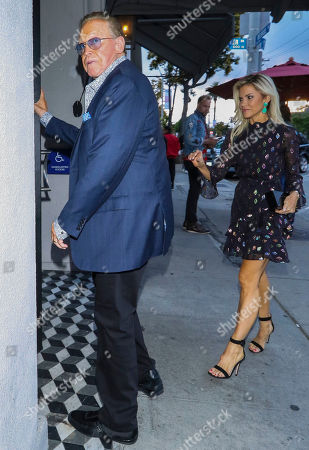 Editorial photo of Lee Majors and Faith Majors out and about, Los Angeles, USA - 15 May 2019
