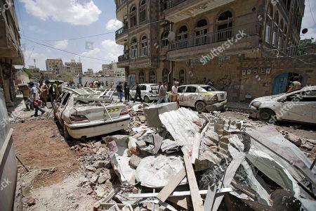 Editorial image of Sanaa, Yemen - 16 May 2019