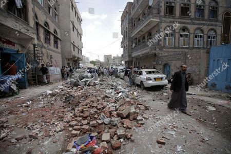 Editorial photo of Sanaa, Yemen - 16 May 2019