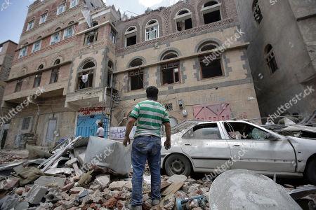 Editorial picture of Sanaa, Yemen - 16 May 2019