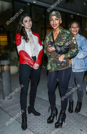 Meagan Good and Grace Fulton