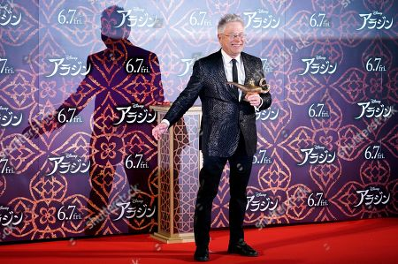 Alan Menken poses during a promotional event for the movie 'Aladdin' in Tokyo, Japan, 16 May 2019. The movie will be screened across Japan from 07 June on.