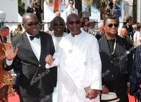 Stock Photo of Senegalese Culture minister Abdoulaye Diop (C) arrives for the screening of 'Atlantics' (Atlantique) during the 72nd annual Cannes Film Festival, in Cannes, France, 16 May 2019. The movie is presented in the Official Competition of the festival which runs from 14 to 25 May.