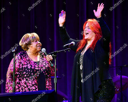 Mavis Staples and Wynonna Judd