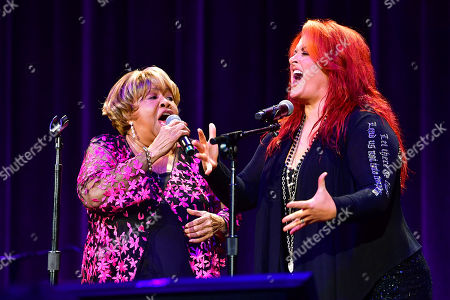 Stock Image of Mavis Staples and Wynonna Judd