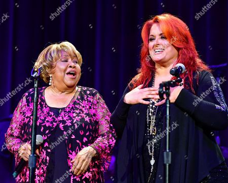 Stock Picture of Mavis Staples and Wynonna Judd