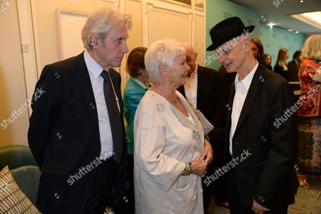 Stock Image of David Mills, Judi Dench, Guest