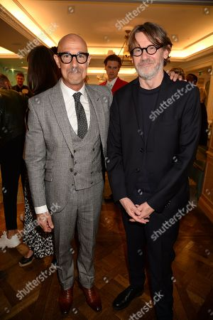 Stanley Tucci and Nigel Slater