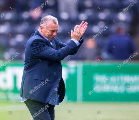 Editorial photo of Kilmarnock v Rangers, Ladbrokes Scottish Premiership, Football, Rugby Park, Kilmarnock, Scotland, UK - 19 May 2019