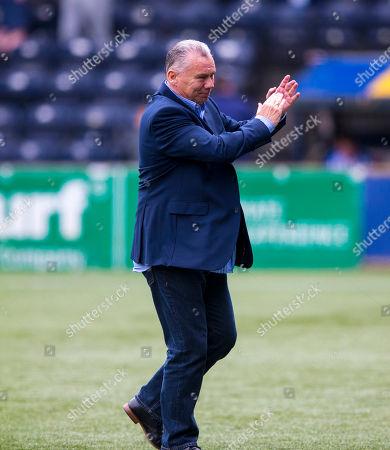 Kilmarnock v Rangers, Rugby Park, Kilmarnock. Former kilmarnock paul Wright