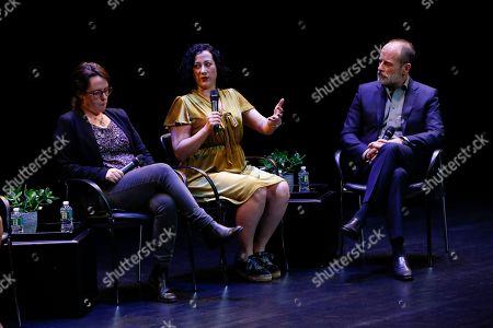 Maggie Haberman, Samantha Stark, John Landgraf