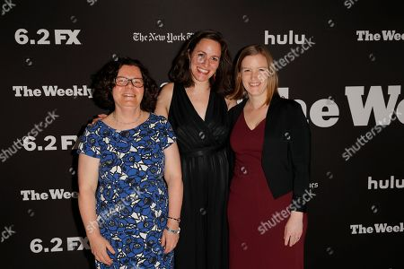 Stock Image of Reed Abelson, Suzanne Hillinger and Katie Thomas