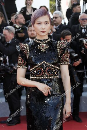 Li Yuchun arrives for the screening of 'Rocketman' during the 72nd annual Cannes Film Festival, in Cannes, France, 16 May 2019. The movie is presented out of competition at the festival which runs from 14 to 25 May.