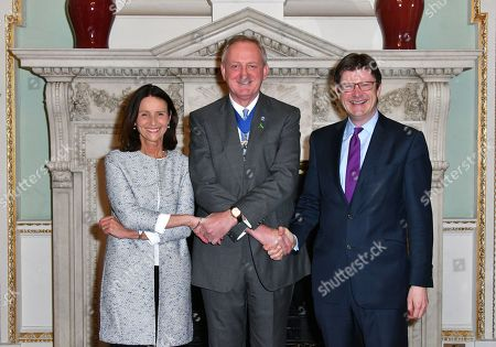Carolyn Fairbairn, Peter Estlin and Greg Clark