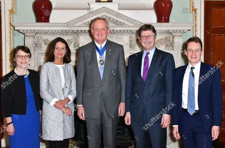 Catherine McGuinness, Carolyn Fairbairn, Peter Estlin, Greg Clark and Andy Street