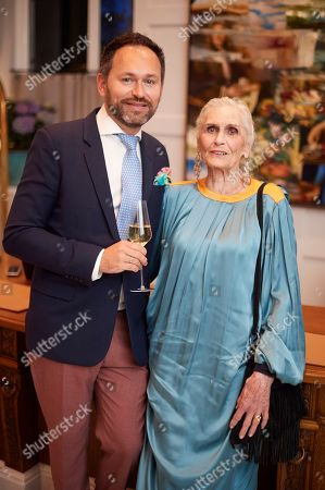 Stock Photo of Arnaud Champenois and Daphne Selfe