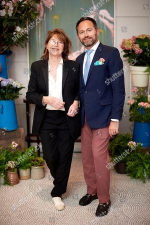 Jane Birkin and Arnaud Champenois