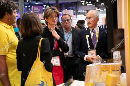 Philippe Wahl and Isabelle Kocher