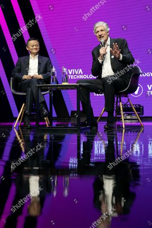 Maurice Levy, Chairman of Publicis and Jack Ma, CEO, Alibaba Group.