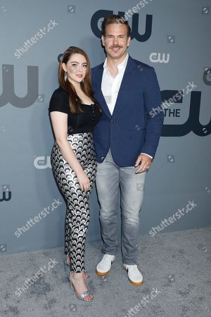 Stock Image of Danielle Rose Russell and Matthew Davis