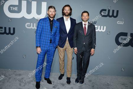 Jared Padalecki, Misha Collins, and Jensen Ackles