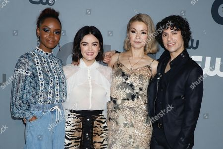 Ashleigh Murray, Lucy Hale, Julia Chan and Jonny Beauchamp