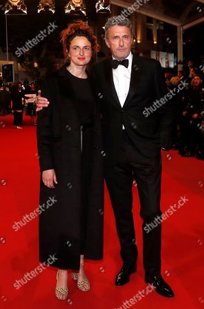 Jury members, Italian director Alice Rohrwacher (L) and Polish director Pawel Pawlikowski arrive for the screening of 'Sorry We Missed You' during the 72nd annual Cannes Film Festival, in Cannes, France, 16 May 2019. The movie is presented in the Official Competition of the festival which runs from 14 to 25 May.
