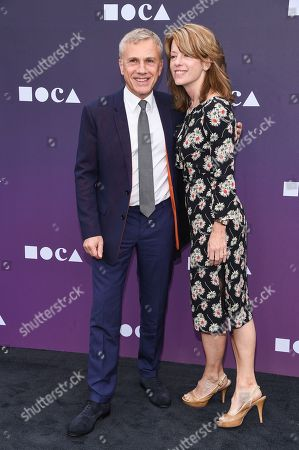 Stock Image of Christoph Waltz and Judith Holste
