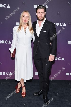 Stock Photo of Sam Taylor-Johnson and Aaron Taylor-Johnson