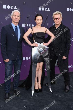 Klaus Biesenbach, China Chow and Billy Idol