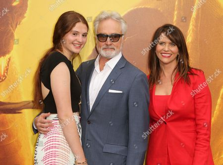 Mary Louisa Whitford, Bradley Whitford and Amy Landecker