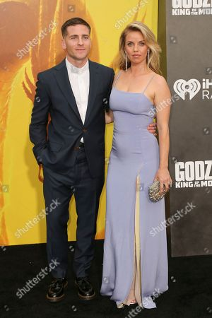 Zach Shields and Kelli Garner