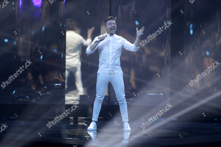 Contest Sergey Lazarev of Russia, performs during the Second Semi-Final of the 64th annual Eurovision Song Contest (ESC) at the Expo Tel Aviv, in Tel Aviv, Israel, 16 May 2019. The Grand Final is held on 18 May.