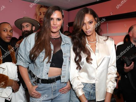 Candice Huffine and Joan Smalls