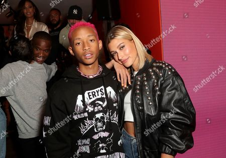 Redaktionelt billede af Levi's 501 Day Hosted by Hailey Bieber and Heron Preston, Levi's Haus, Los Angeles, USA - 18 May 2019