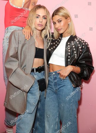 Maeve Reilly and Hailey Bieber