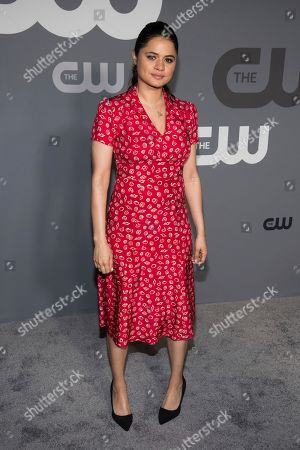 Melonie Diaz attends the CW 2019 Network Upfront at New York City Center, in New York