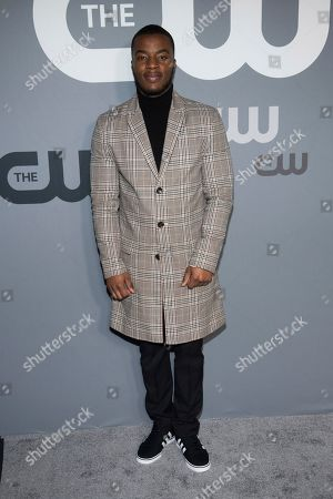 Daniel Ezra attends the CW 2019 Network Upfront at New York City Center, in New York