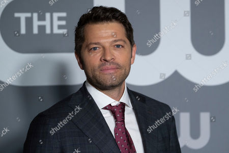 Misha Collins attends the CW 2019 Network Upfront at New York City Center, in New York