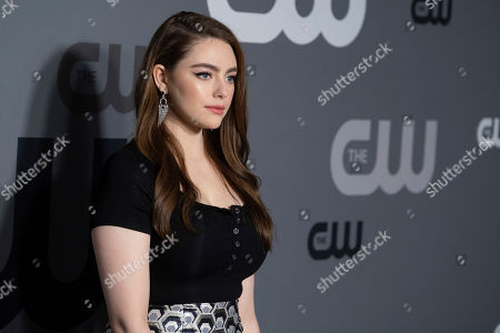Danielle Rose Russell attends the CW 2019 Network Upfront at New York City Center, in New York