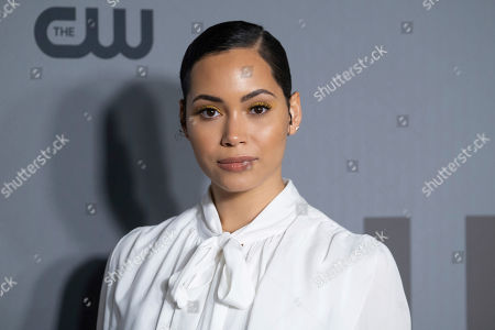 Madeleine Mantock attends the CW 2019 Network Upfront at New York City Center, in New York