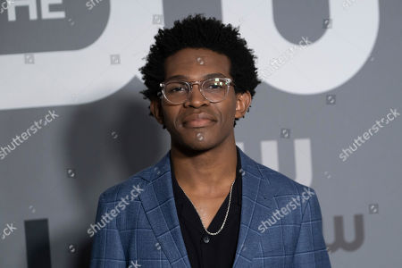 Camrus Johnson attends the CW 2019 Network Upfront at New York City Center, in New York