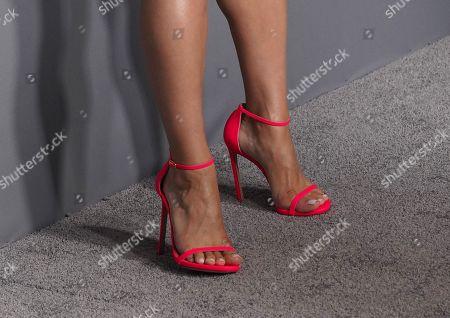 Jeanine Mason, shoe detail