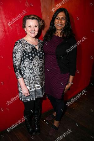 Stock Picture of Monica Dolan and Lolita Chakrabarti