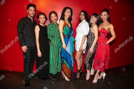 Editorial photo of 'White Pearl' party, Press Night, London, UK - 16 May 2019