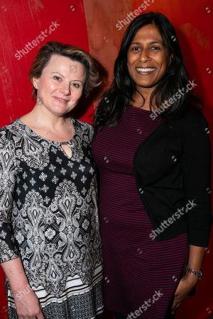 Monica Dolan and Lolita Chakrabarti