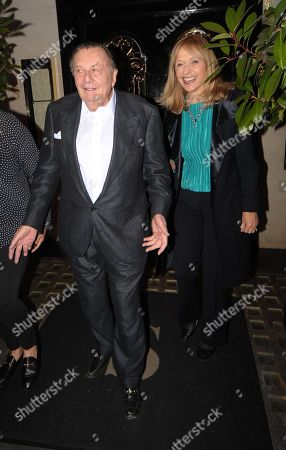 Barry Humphries at Scotts Restaurant