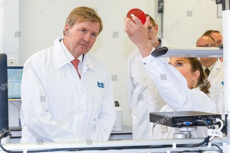 King Willem Alexander celebrates the 100th anniversary of the Animal Health Service, Deventer