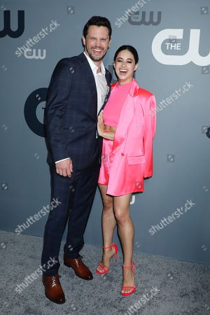 Stock Picture of Nathan Dean Parsons, Jeanine Mason